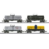 Marklin 48640 Set with 4 Tin Plate Tank Cars