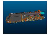 Marklin 55424 Steam Locomotive with a Tub-Style Tender