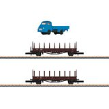 Marklin 82132 Type Rmms 33 Stake Car Set