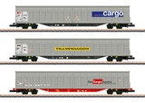 Marklin 82418 Sliding Wall Boxcar Set EP VI