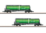 Marklin 82532 Green Cargo Funnel Flow Tank Car Set