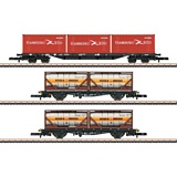 Marklin 82663 Container Transport Car Set