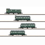 Marklin 87040 German Federal Railroad Passenger Car Set