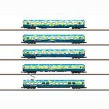 Marklin 87303 DB AG Touristikzug Passenger Car Set 2