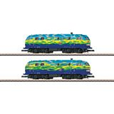 Marklin 88789 Locomotive Set of Diesel Locomotives