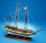 Model Shipways MS2028 Rattlesnake US Privateer