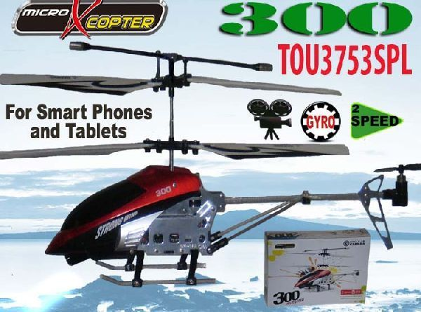 Ultimass 3753SPL RC Infrared Micro X Copter Model 300 Gyro video Ipad