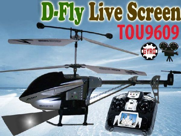 Ultimass TOU9609 RC D-FLY Live Screen Helicopter