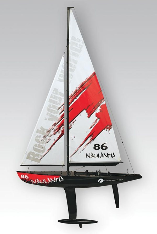 Thunder Tiger 5549 Naulantia 1M Yacht Red
