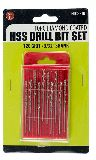 Sona Enterprises DHD33210 10Pc Diamond Coated HSS Drill Bit Set