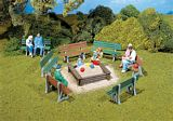 Pola 330979 Benches Set of 6