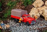 Pola 331615 Fire Brigade Vehicle Opel Blitz with Platform