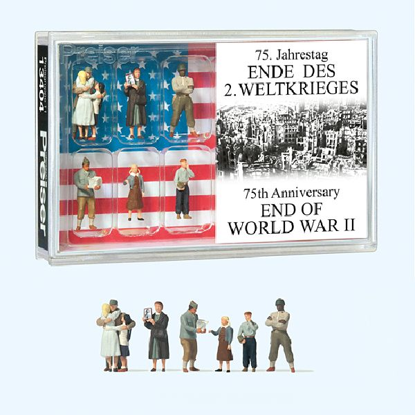 Preiser 13404 75th Anniversary End of World War II