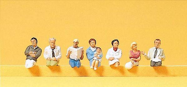 Preiser Figures PR10245 | HO Exclusive Hand painted Figures