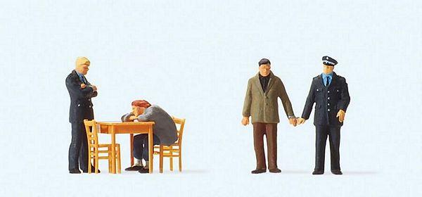 Preiser Figures PR10431 | HO Exclusive Hand painted Figures