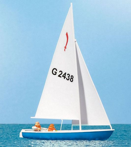 Preiser 10679 Sailing Boat with Sailors