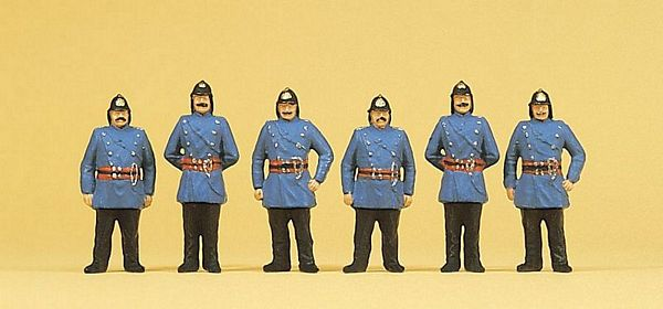Preiser 12102 Firemen Around 1900