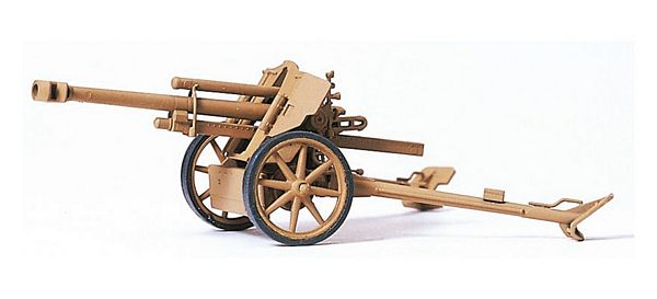 Preiser 16534 Light field howitzer 105 cm leFH 18-40