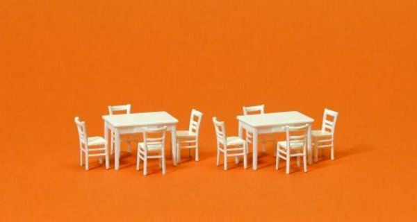 Preiser 17217 Chairs and tables