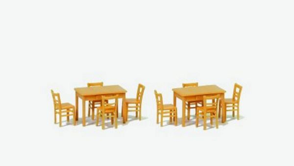 Preiser 17218 Chairs and tables