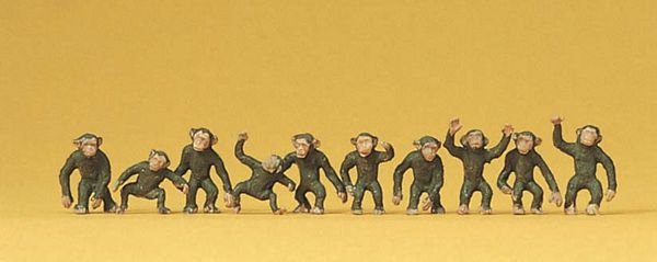 Preiser 20388 Monkeys