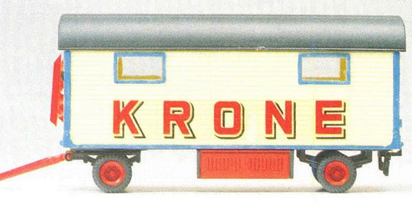 Preiser 21017 Equipment Caravan Circus Krone with windows