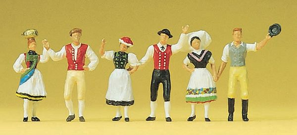 Preiser 24604 National costumes