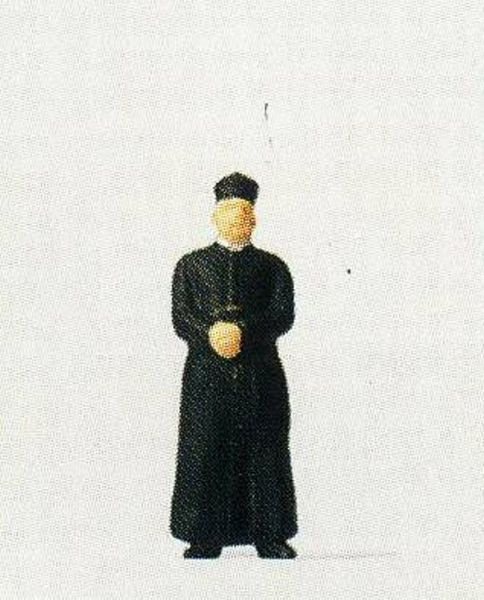 Preiser 28076 Priest wearing a cassock
