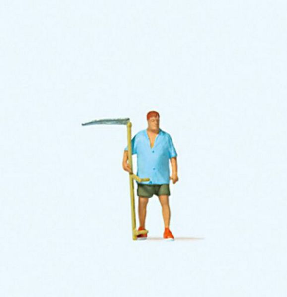 Preiser 28217 Farmer with scythe