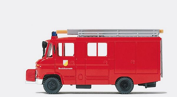 Preiser 35026 Fire squad tenderMB 408-29Folding doors