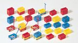 Preiser 17113 Plastic boxes Kit