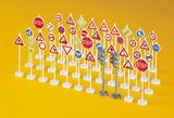 Preiser 18203 Traffic signs 40 pieces Kit