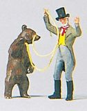 Preiser 29041 Bear-leader with bear