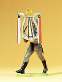 Preiser 56087 Soldier Musician Marching with Lyre