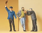 Preiser 63058 Conductor Smoking railway workers