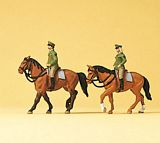 Preiser 79139 Police on horseback Germany