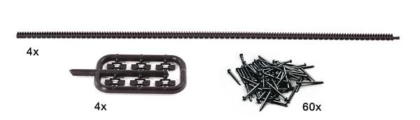Roco 42602 Flexible toothed racks fo r ROCO LINE tracks