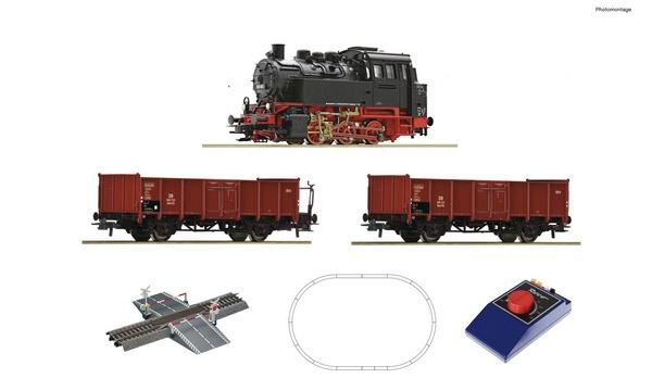 Roco 51160 Analogue start set Steam locomotive class 80