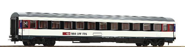 Roco 54167 2nd Class Eurocity Compartment Coach SBB