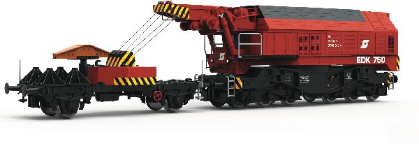 Roco 73036 Slewing Railway Crane for Digital Operation OBB