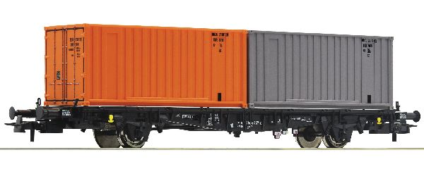 Roco 76787 Container Carrier Wagon DR