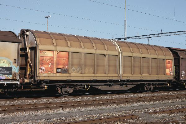 Roco 77487 Sliding Wall Wagon OBB