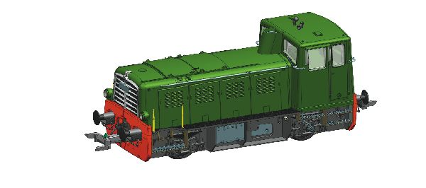 Roco 78003 Diesel Locomotive MG2 RZD
