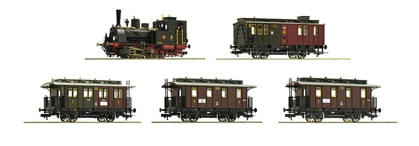 Roco 61475 Steam locomotive T3 and passenger cars K P E V