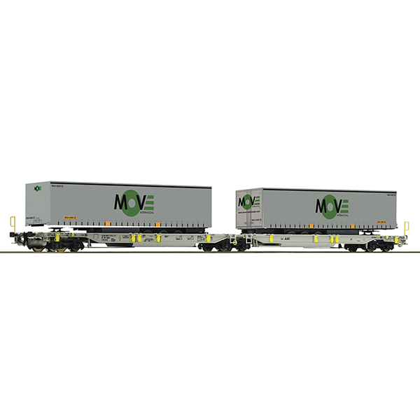 Roco 67404 Articulated pocket wagon AAE