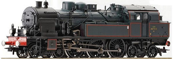 Roco 72166 Steam locomotive class 232 TC SNCF