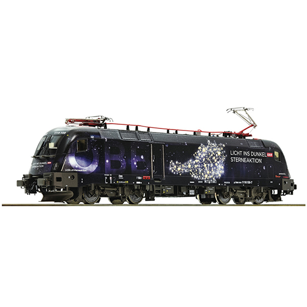 Roco 73238 Electric locomotive 1116 158 Licht ins Dunkel OBB