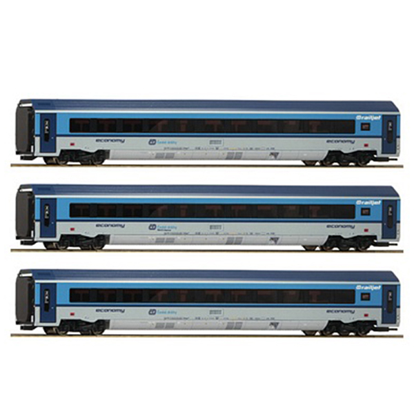 Roco 74141 3 piece set Railjet CD