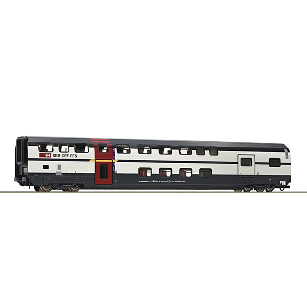 Roco 74501 1st class double deck coach with baggage compartment SBB