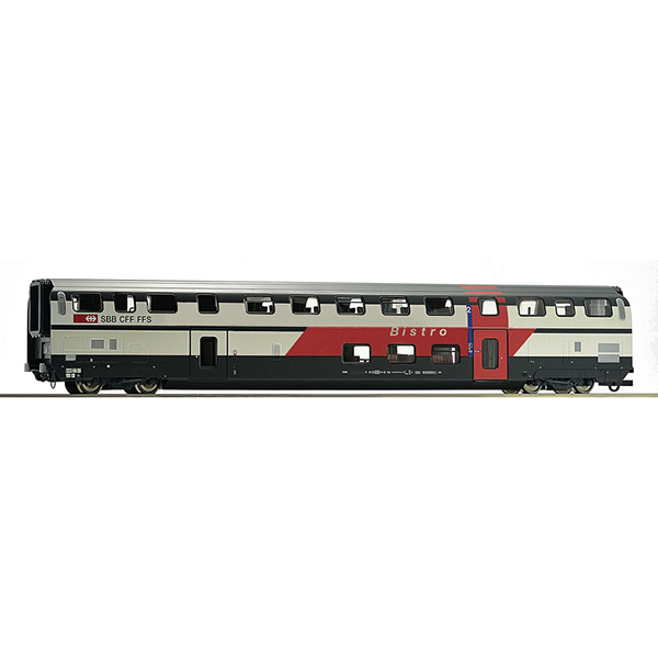 Roco 74504 Double deck coach with dining and buffet area SBB